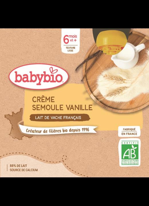 Mléčná svačinka vanilka krupička