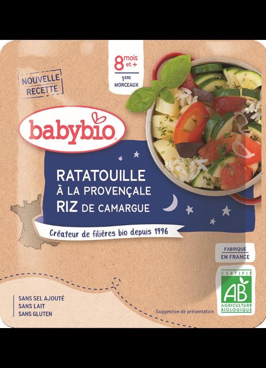 příkrm Ratatouille po provensálsku s rýží