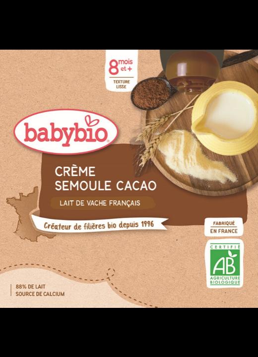 Mléčná svačinka kakao krupička
