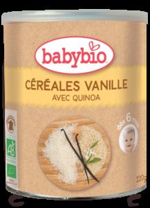 Nemléčná kaše s vanilkou