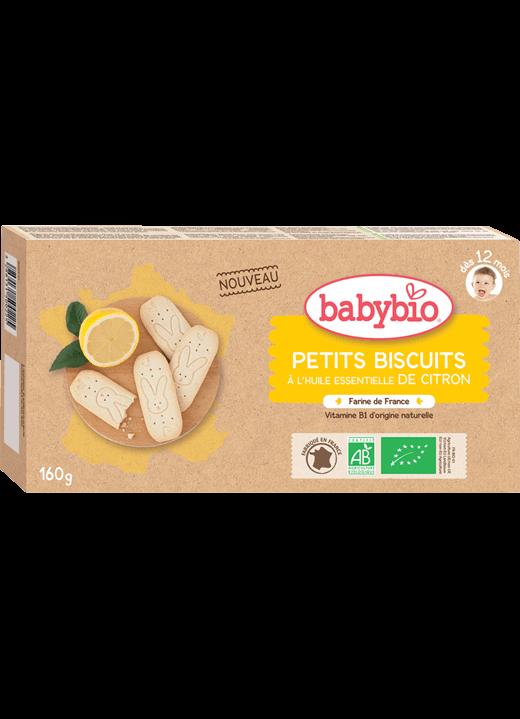 Dětské sušenky BABYBIO citrón