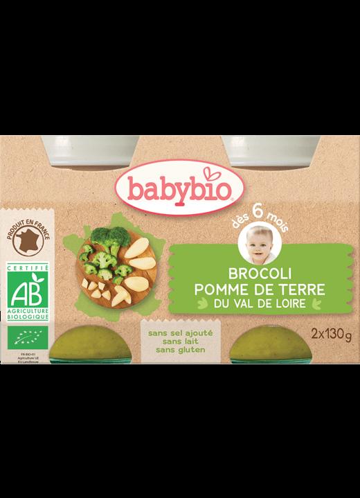 Zeleninový příkrm brokolice brambory