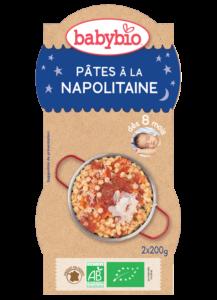 Večerní menu příkrm neapolské těstoviny