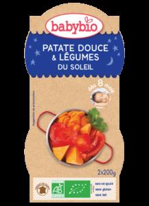Večerní menu příkrm sladké brambory s letní zeleninou