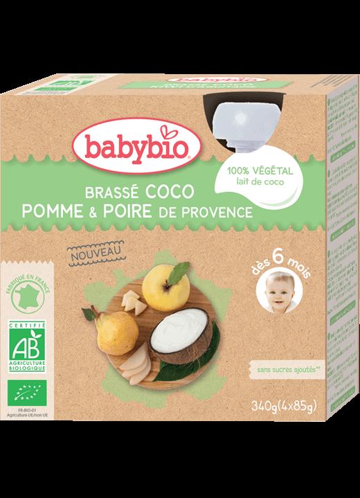 Svačinka s kokosovým mlékem – jablko a hruška