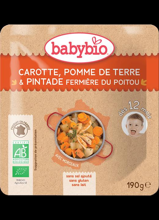 Denní menu příkrm mrkev a brambory s farmářskou perličkou
