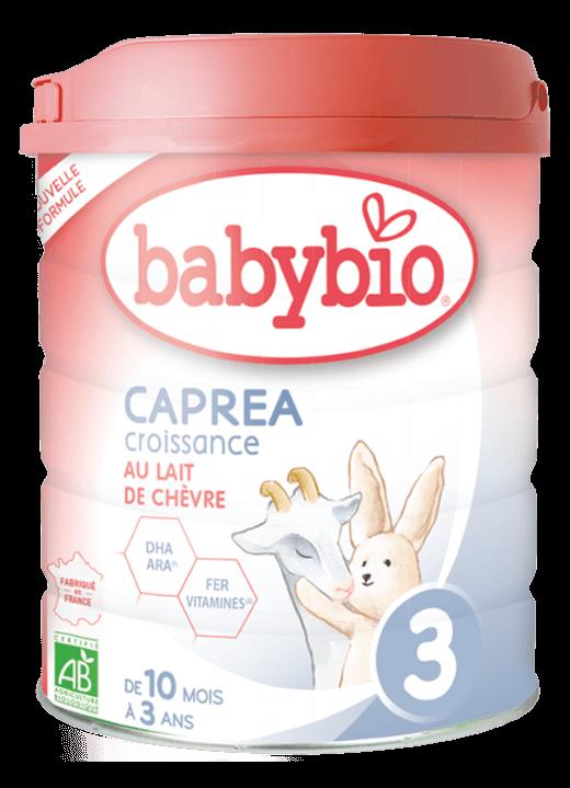 kojenecké mléko babybio caprea 3