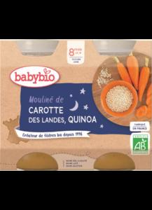 mrkvové mouliné s quinoa
