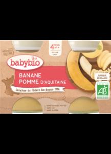 Ovocný příkrm jablko banán