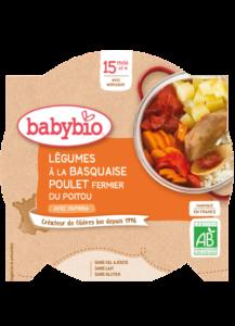 příkrm zelenina s baskickým kuřetem a rýží