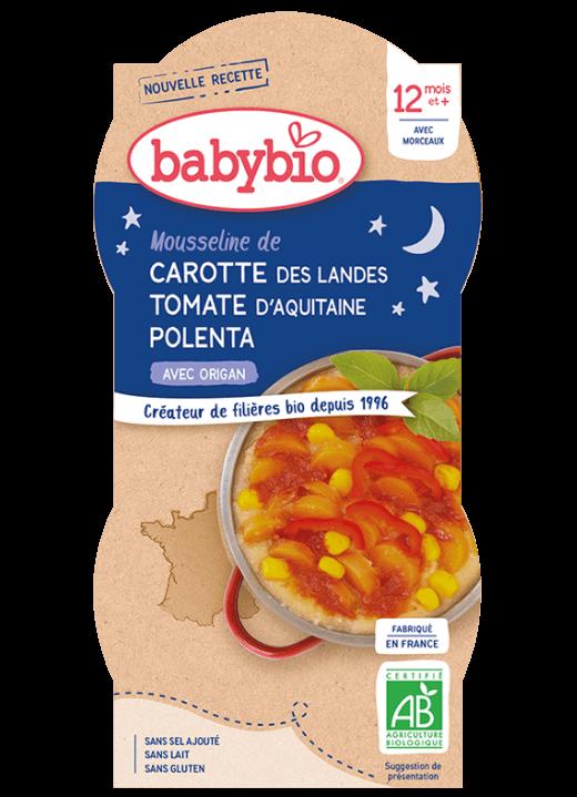 příkrm mrkev s rajčatovým pyré, sladkou kukuřicí