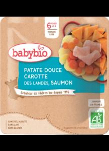 Denní menu příkrm sladké brambory