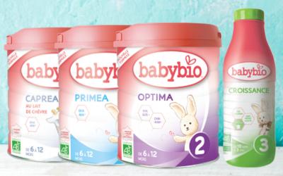 Stručný průvodce mléky Babybio