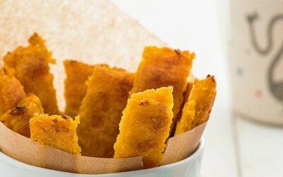 Zdravé domácí hranolky z polenty